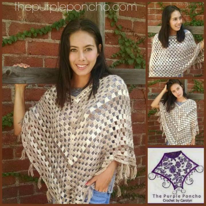 50 Free Crochet Poncho Patterns For All Diy Crafts