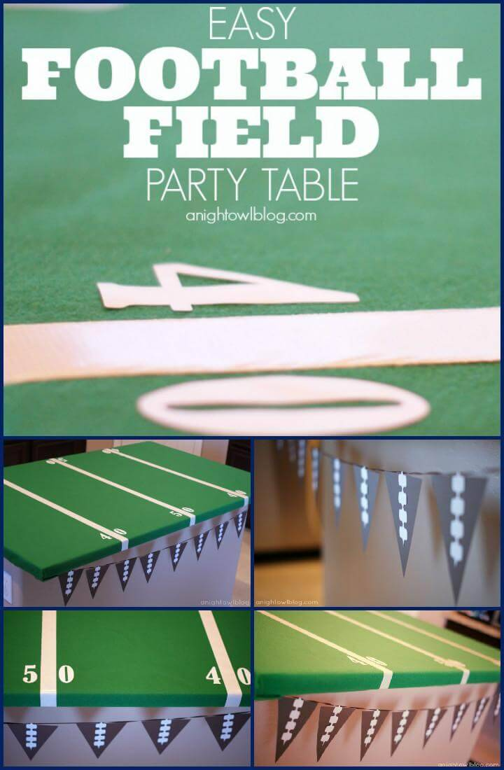 vinyle upgraded football field table