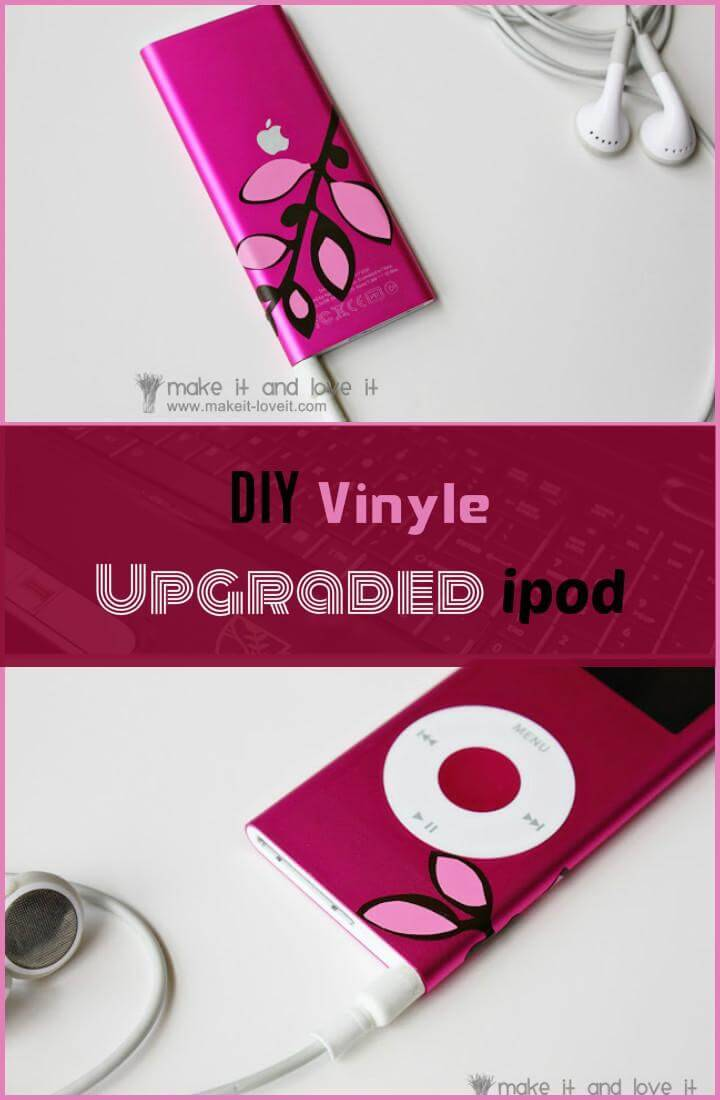 updated vinyl ipod