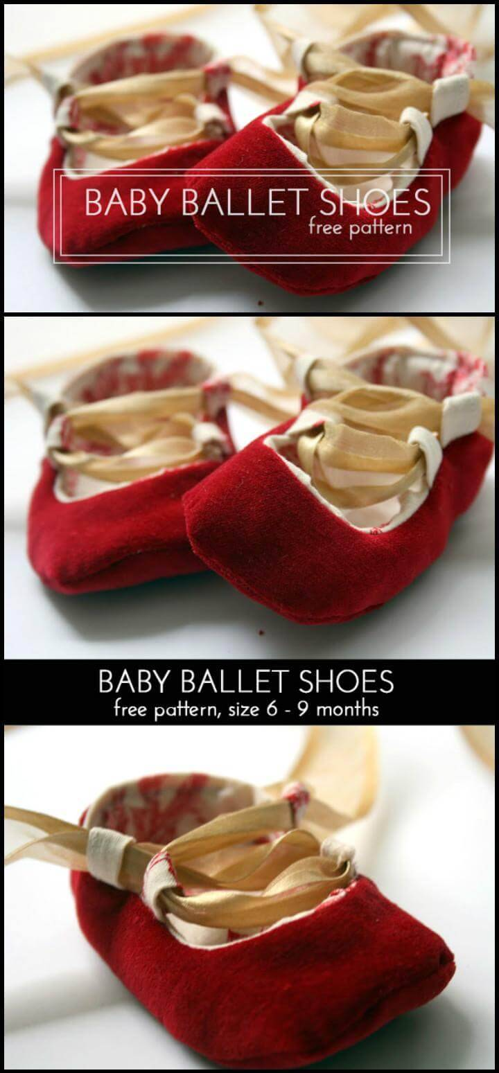 handmade baby ballet shoes