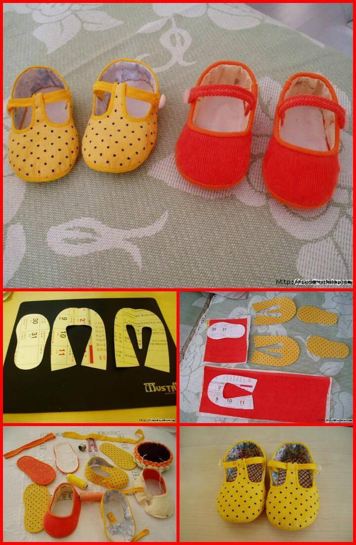handmade children's slippers