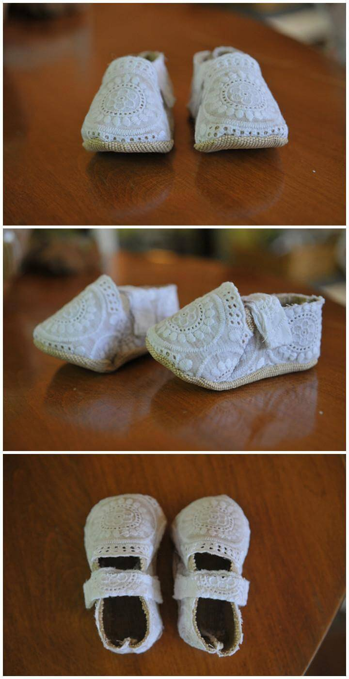 d07f4988243a7 55+ DIY Baby Shoes with Free Patterns and Tutorials - DIY Crafts