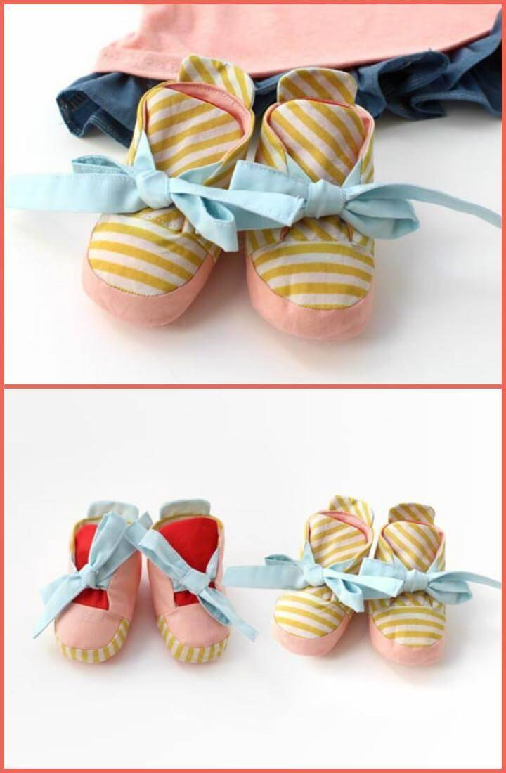 handcrafted reversible baby shoes