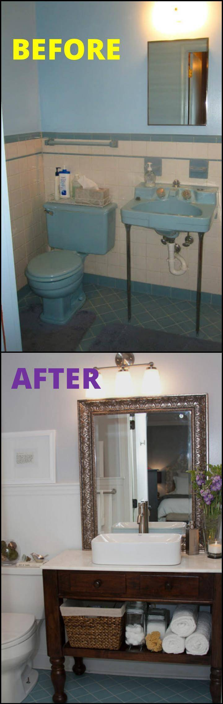 easy master bathroom remodeling