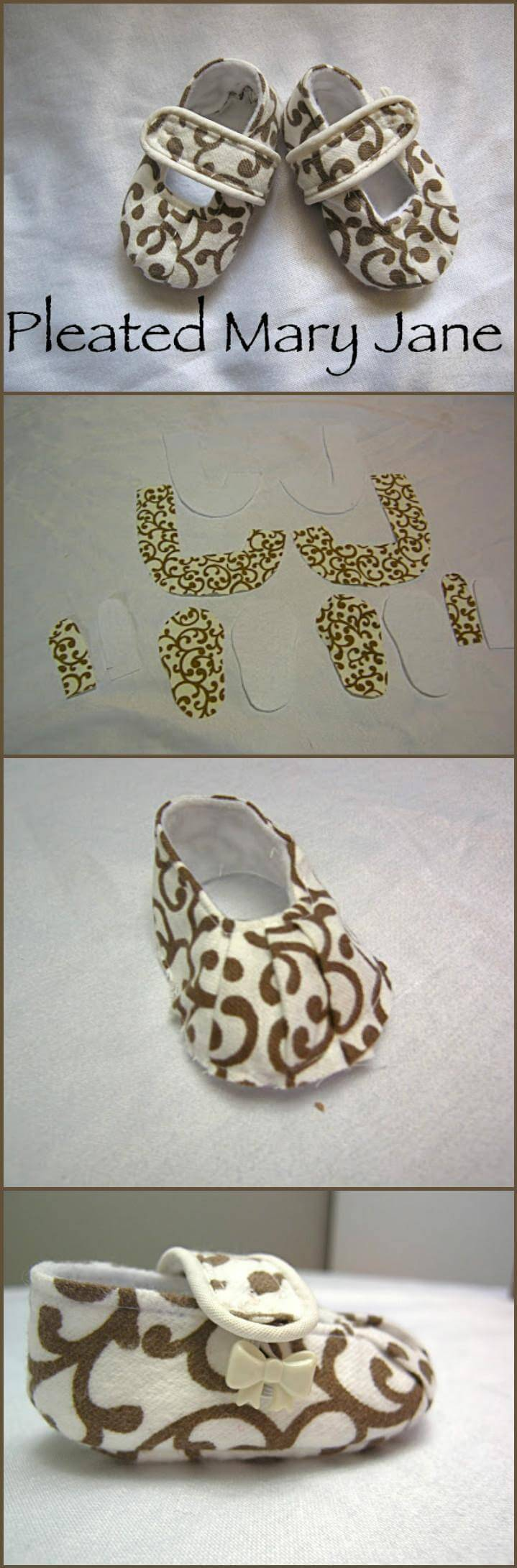 55 Diy Baby Shoes With Free Patterns And Tutorials ⋆ Diy