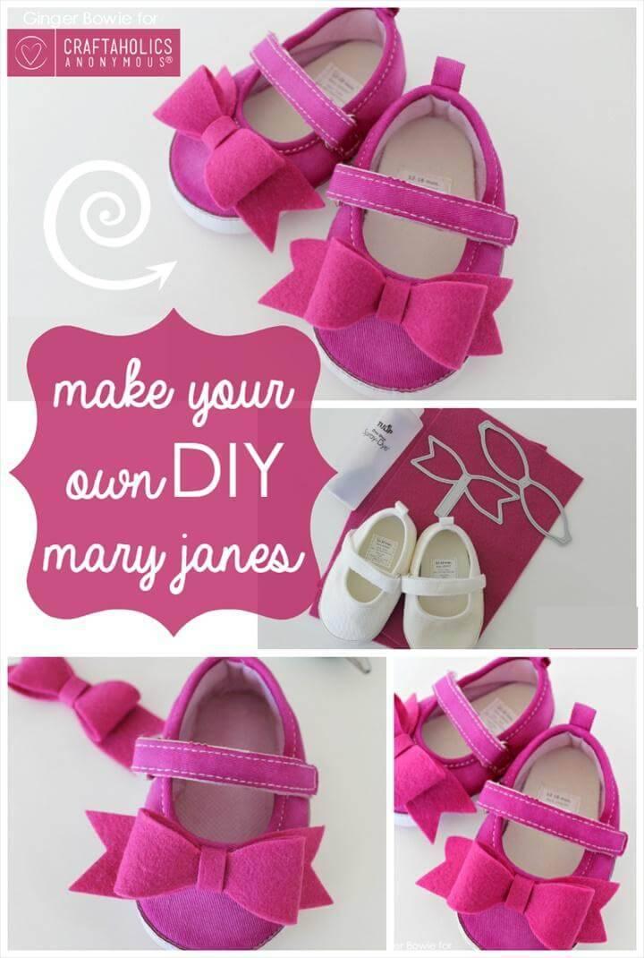 easy yet stylish DIY Mary Janes