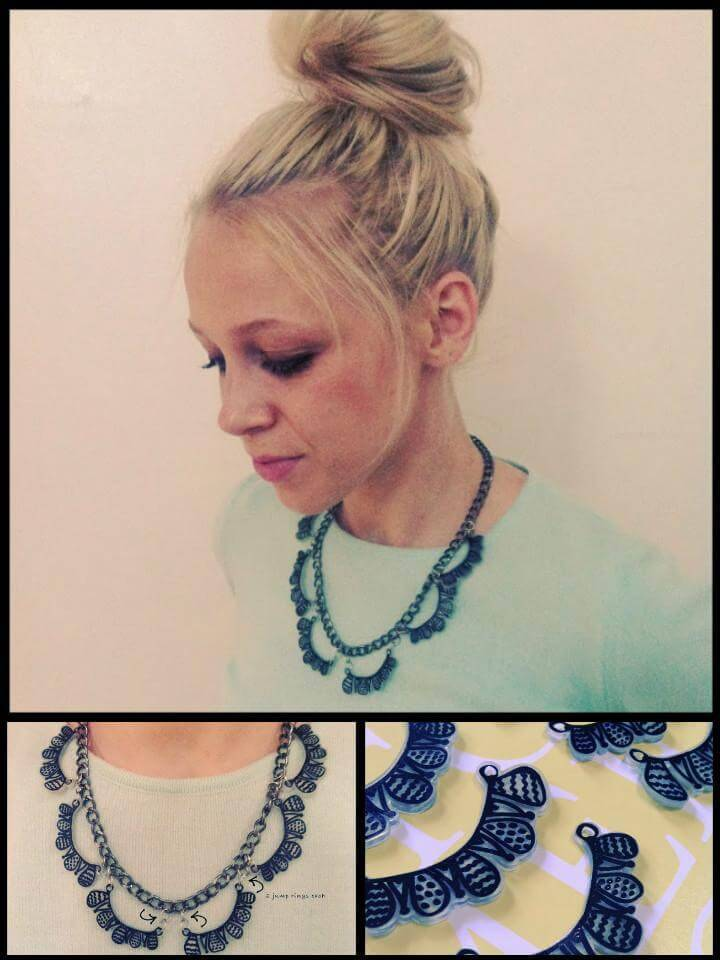 easy shrink dink necklace