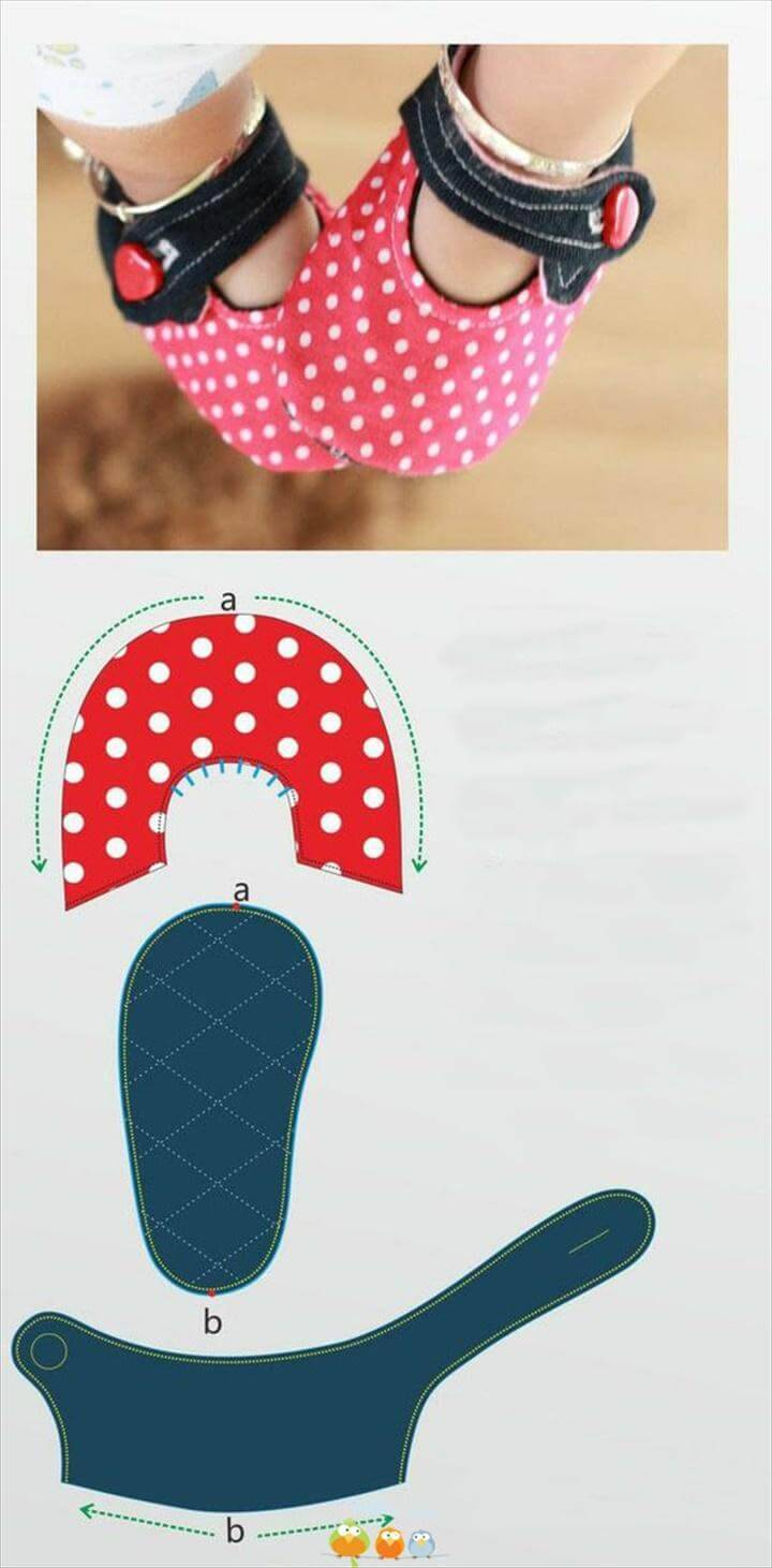 beautiful baby polka dot shoes