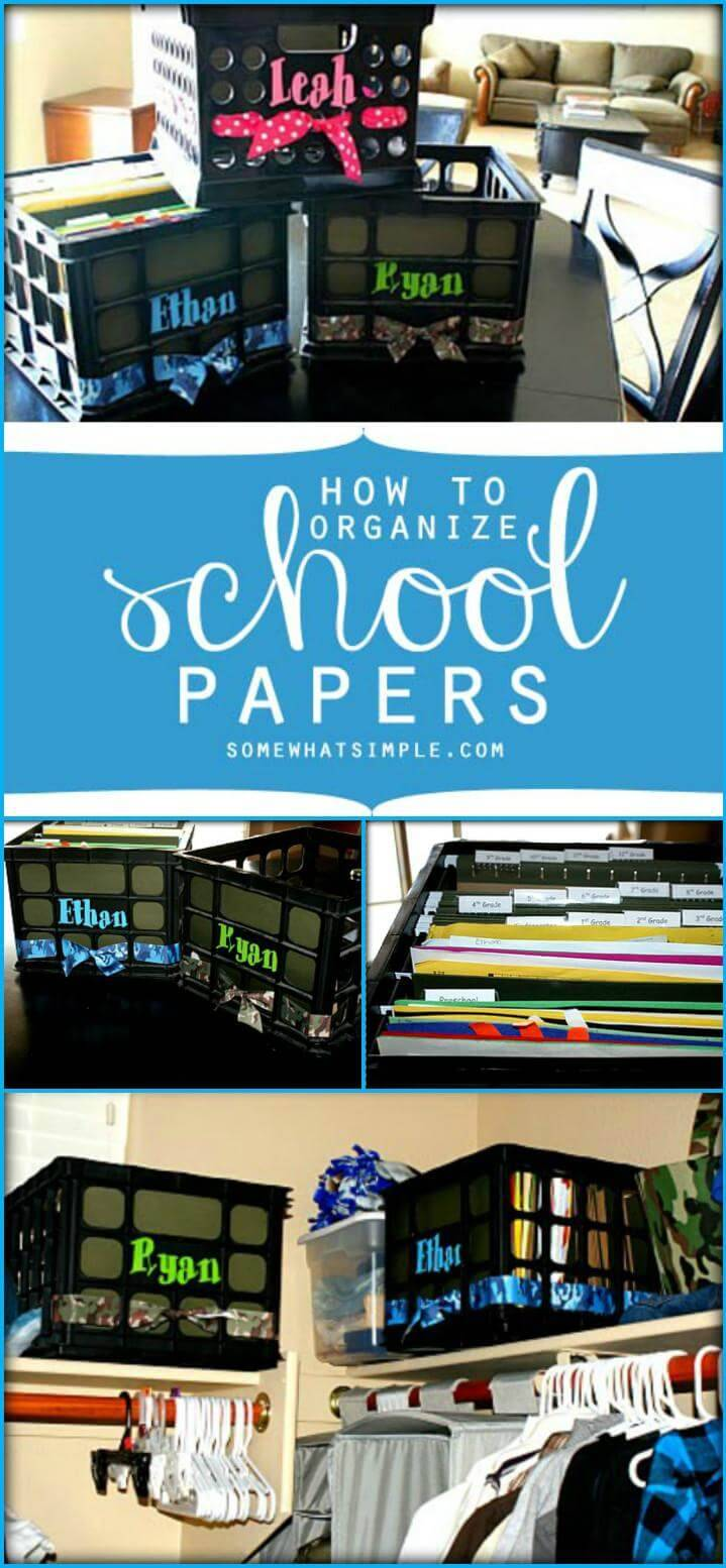 vinyl customized school paper boxes