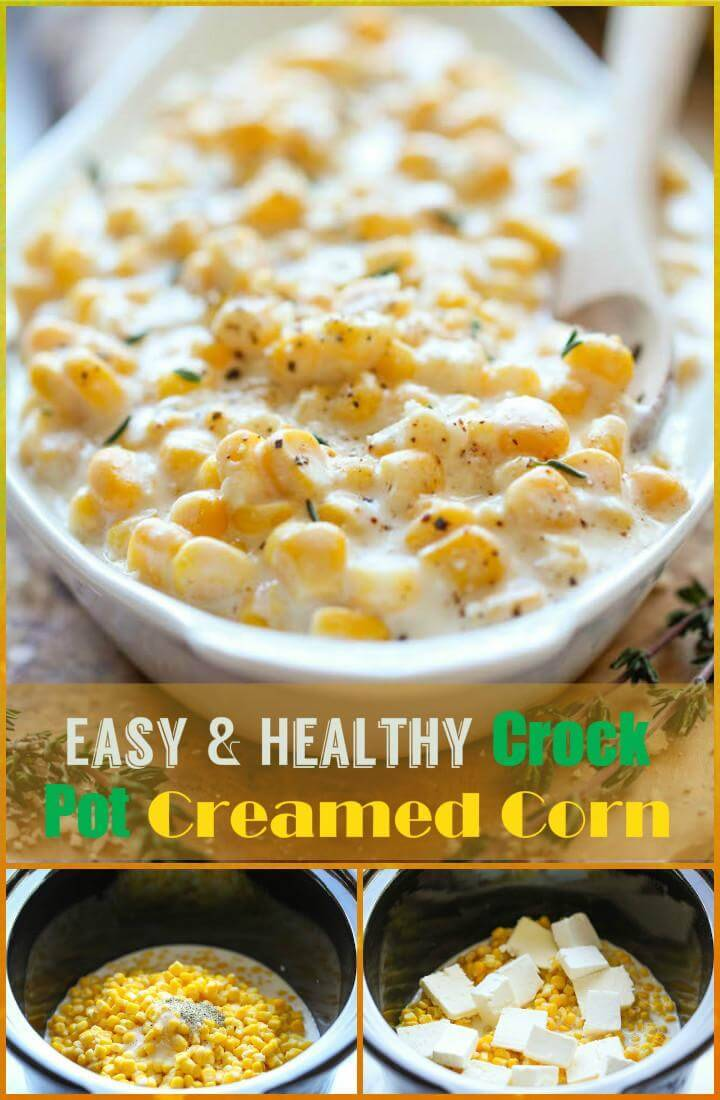 tasty and healthy crock pot creamed corn recipe