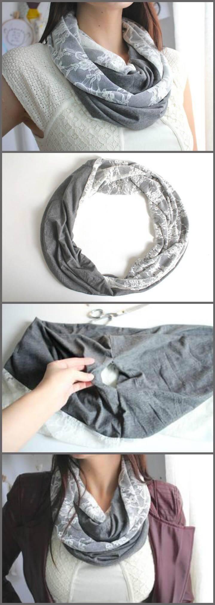 diy infinity scarf tutorial