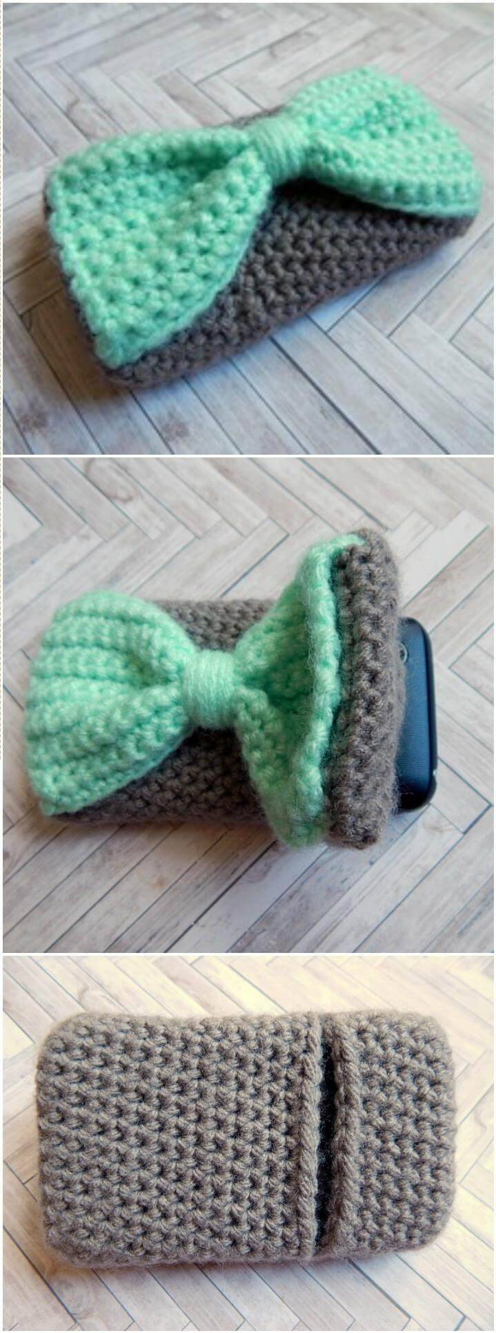 50 Free Crochet Phone Case Patterns Diy Crafts