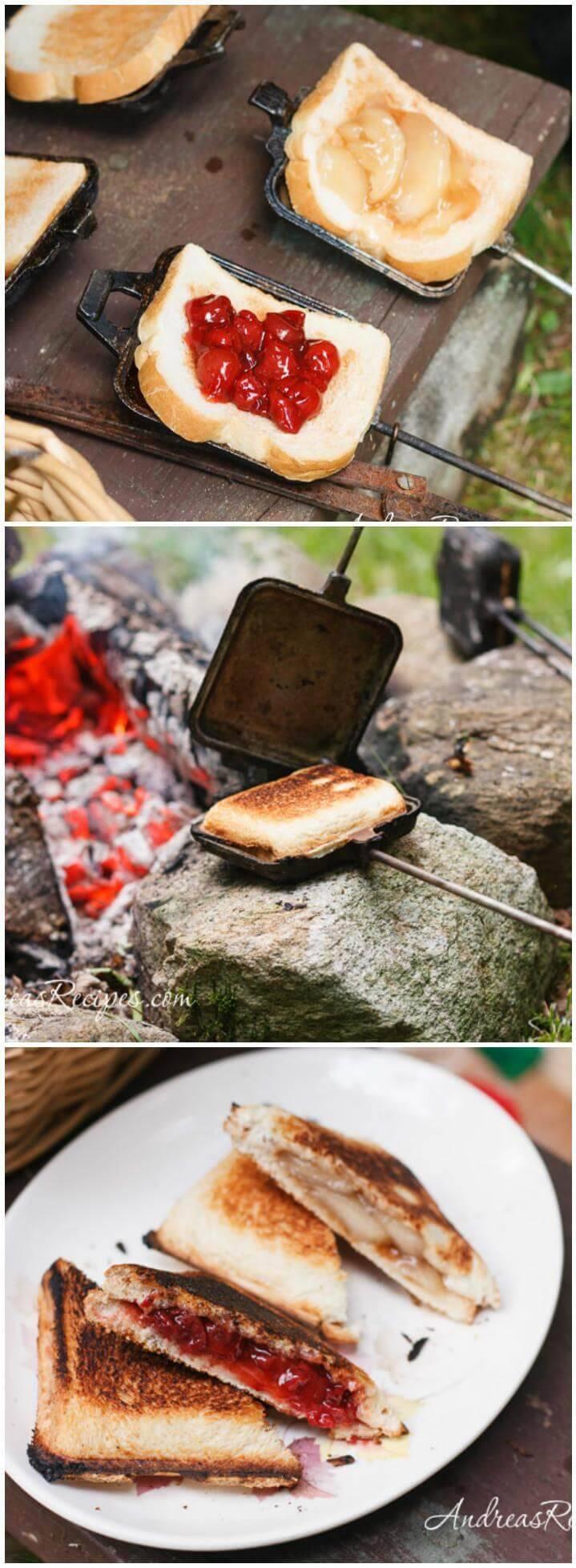easy campfire pie