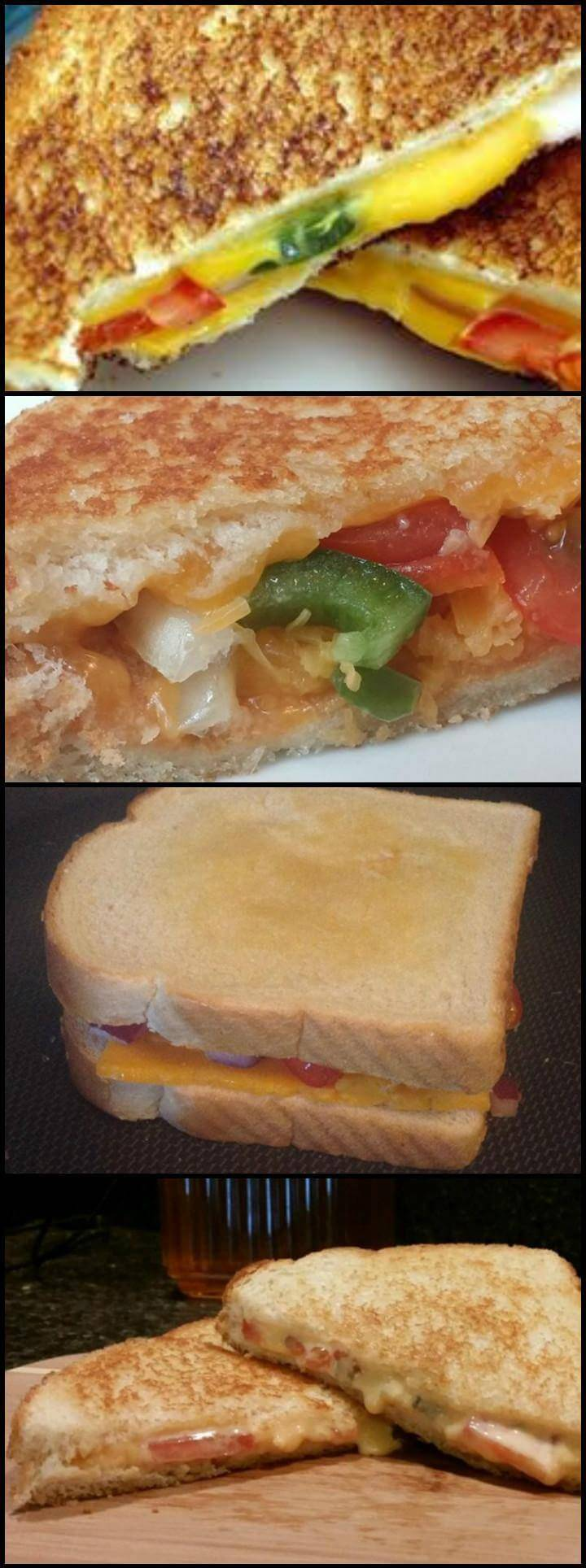 spicy grilled cheese sandwiches