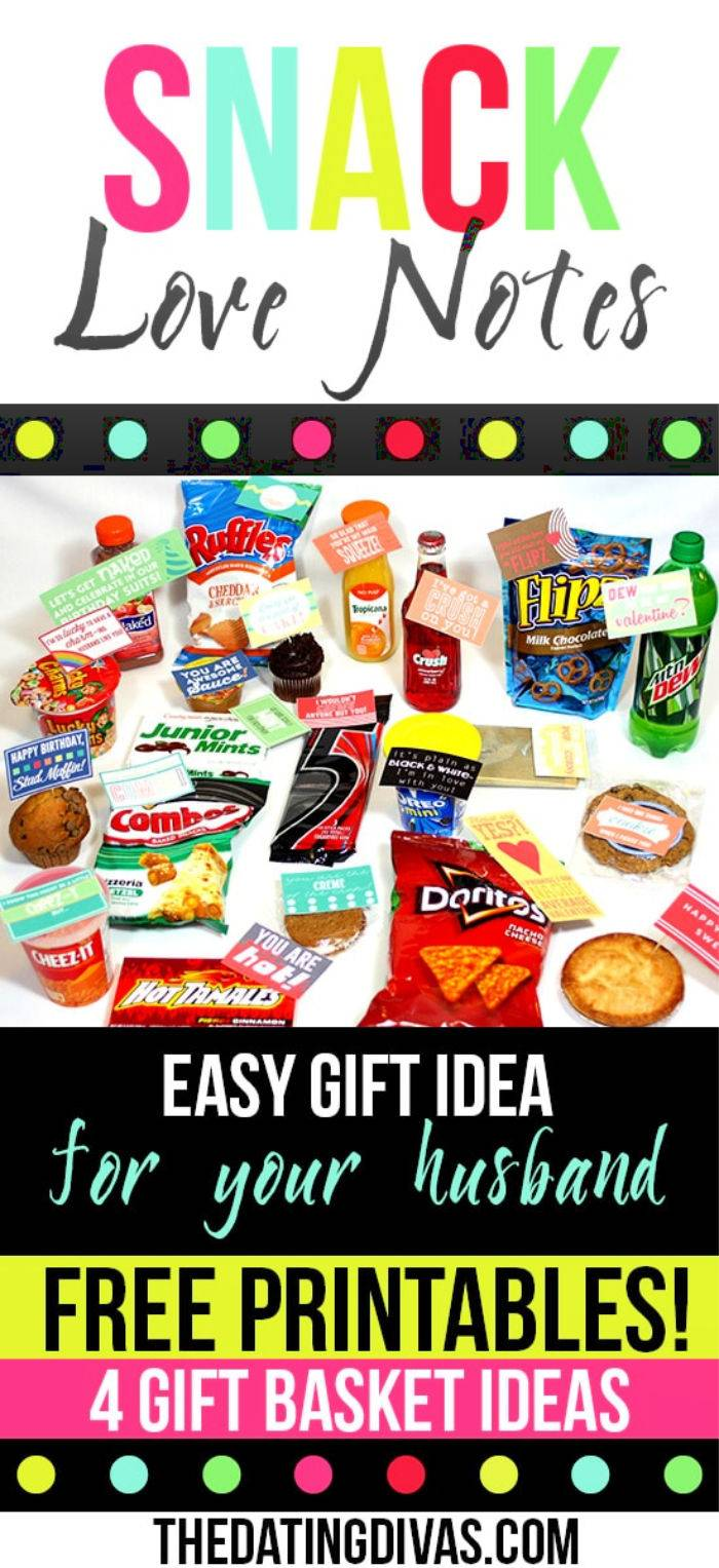 Easy And Special Gift Basket Ideas For Your Husband