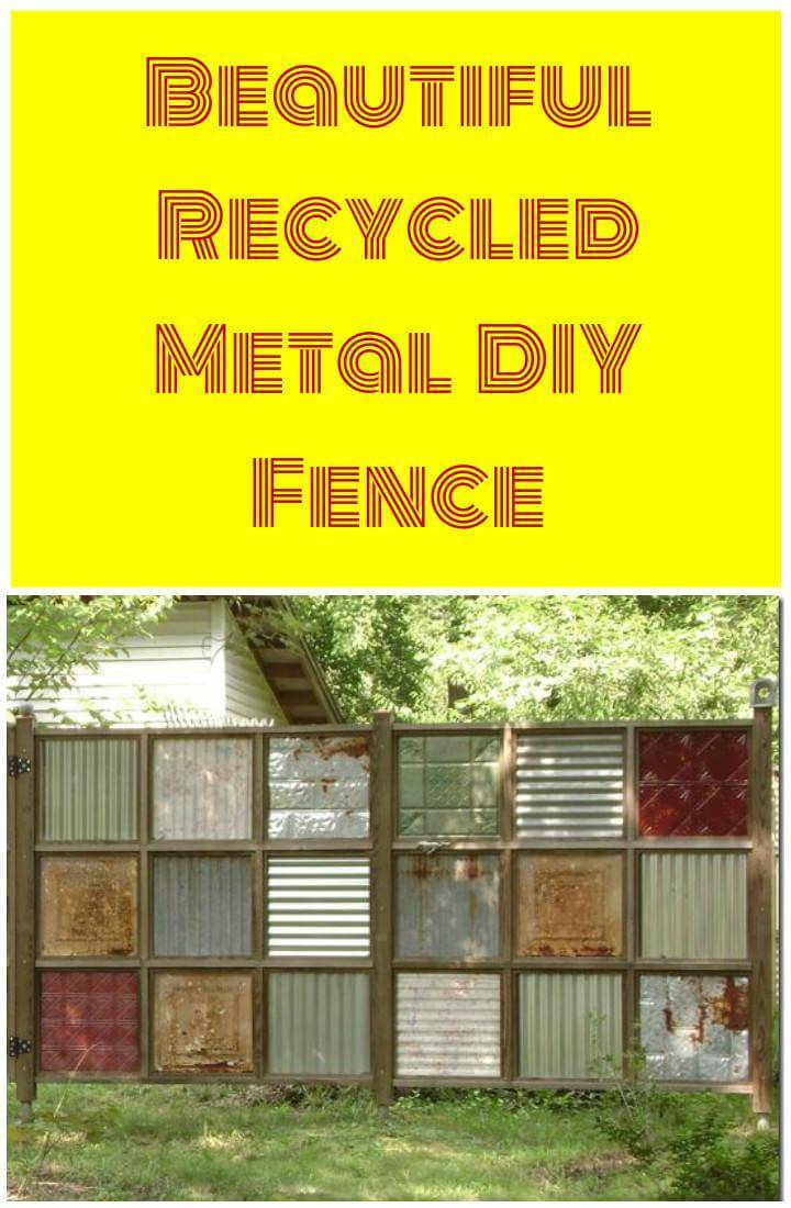 25+ DIY Fence Decorating Ideas & Projects - DIY & Crafts