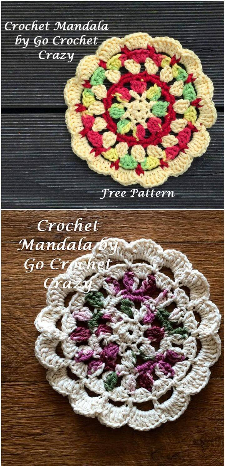 easy and beautiful crochet mandala