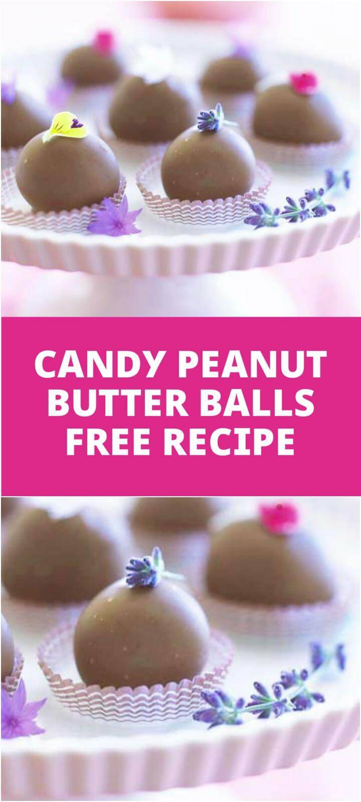 easy candy peanut butter balls