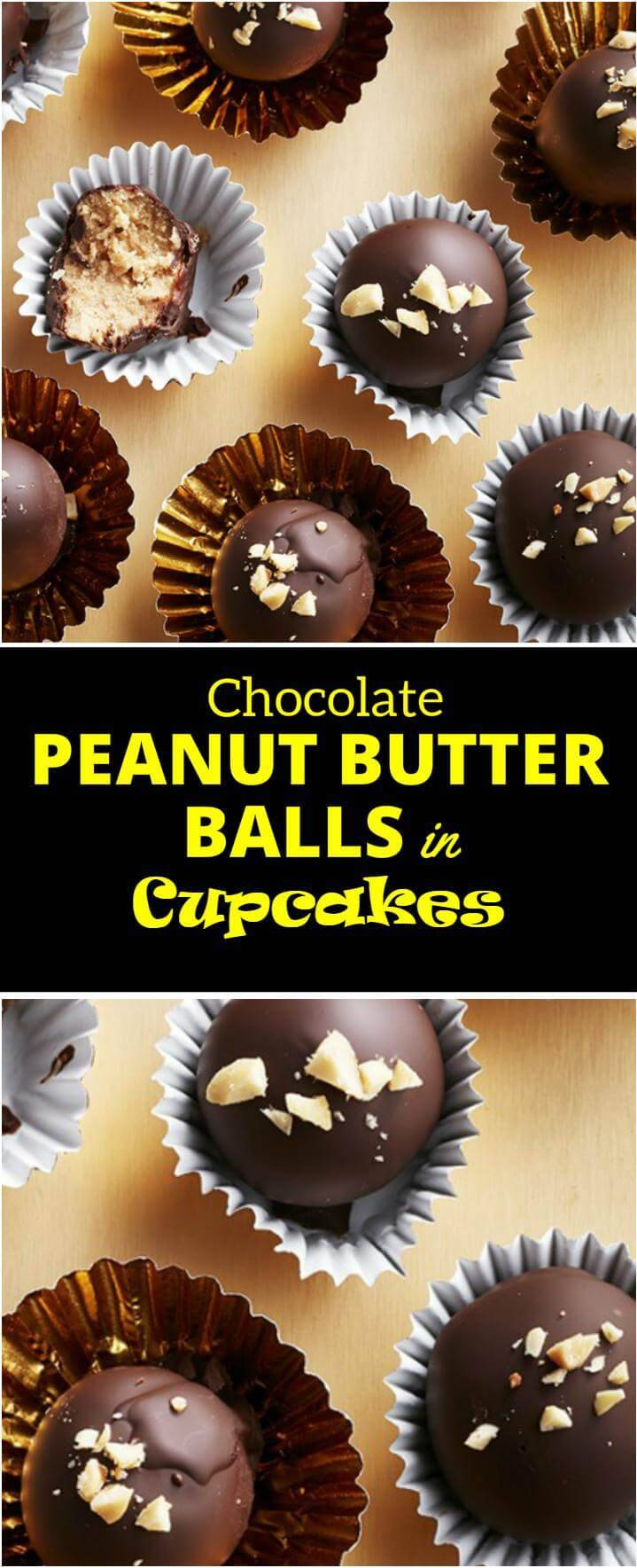 chocolate dipped peanut butter balls