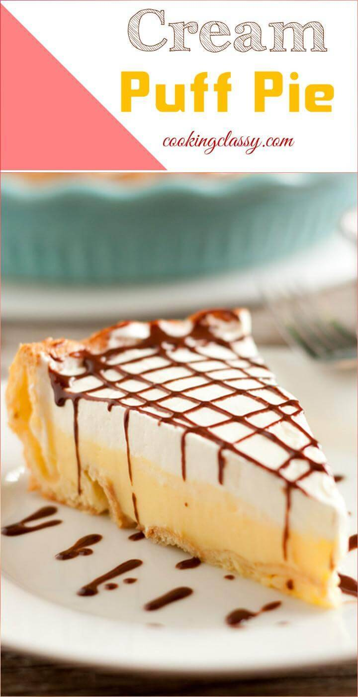 easy cream puff pie