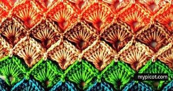 Crochet Box Stitch - Step by Step Instructions - Free Crochet Pattern