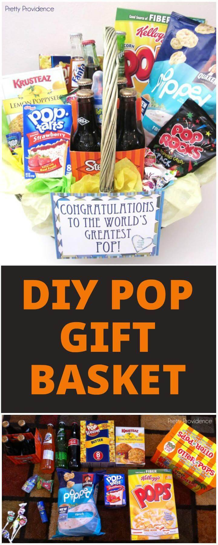 Handmade Pop Gift Basket