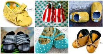 DIY Baby Shoes with Free Patterns and Tutorials