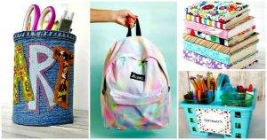 DIY Back to School Projects - DIY Crafts