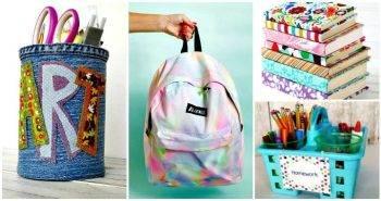 DIY Back to School Crafts