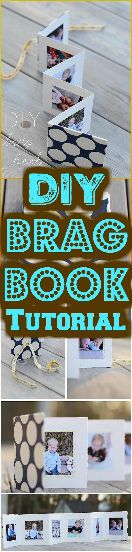 easy brag book tutorial