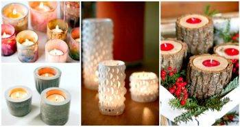 DIY Candle Holders and Votives You Can Do