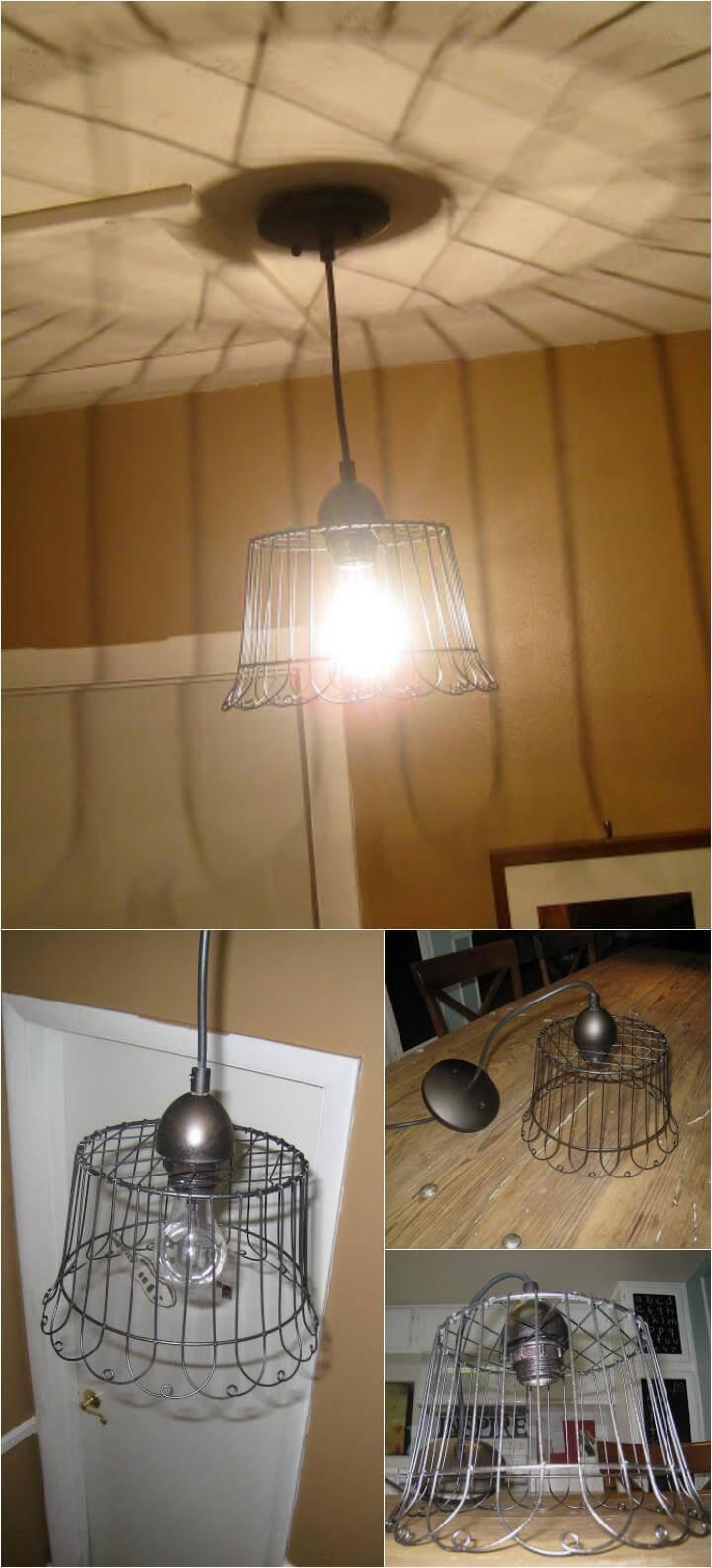 self-made Anthroplogie inspired pendant light