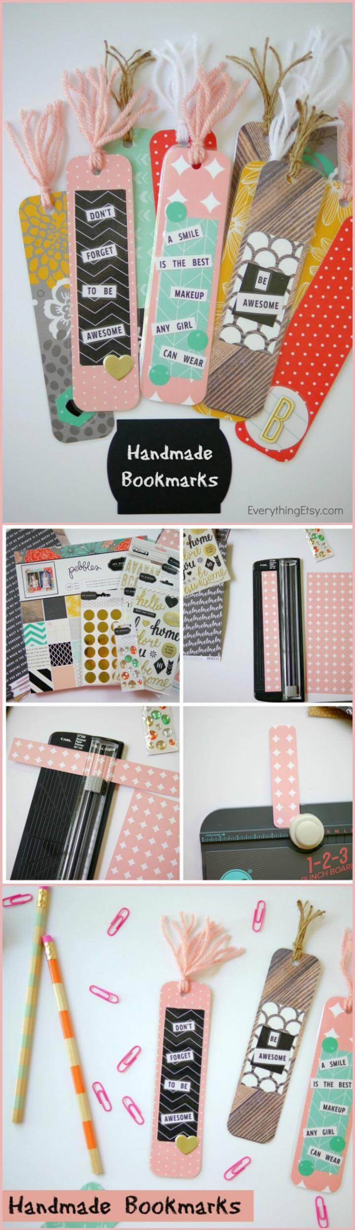 self-made easy bookmarks