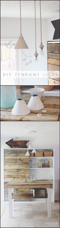 easy yet beautiful pendant lights
