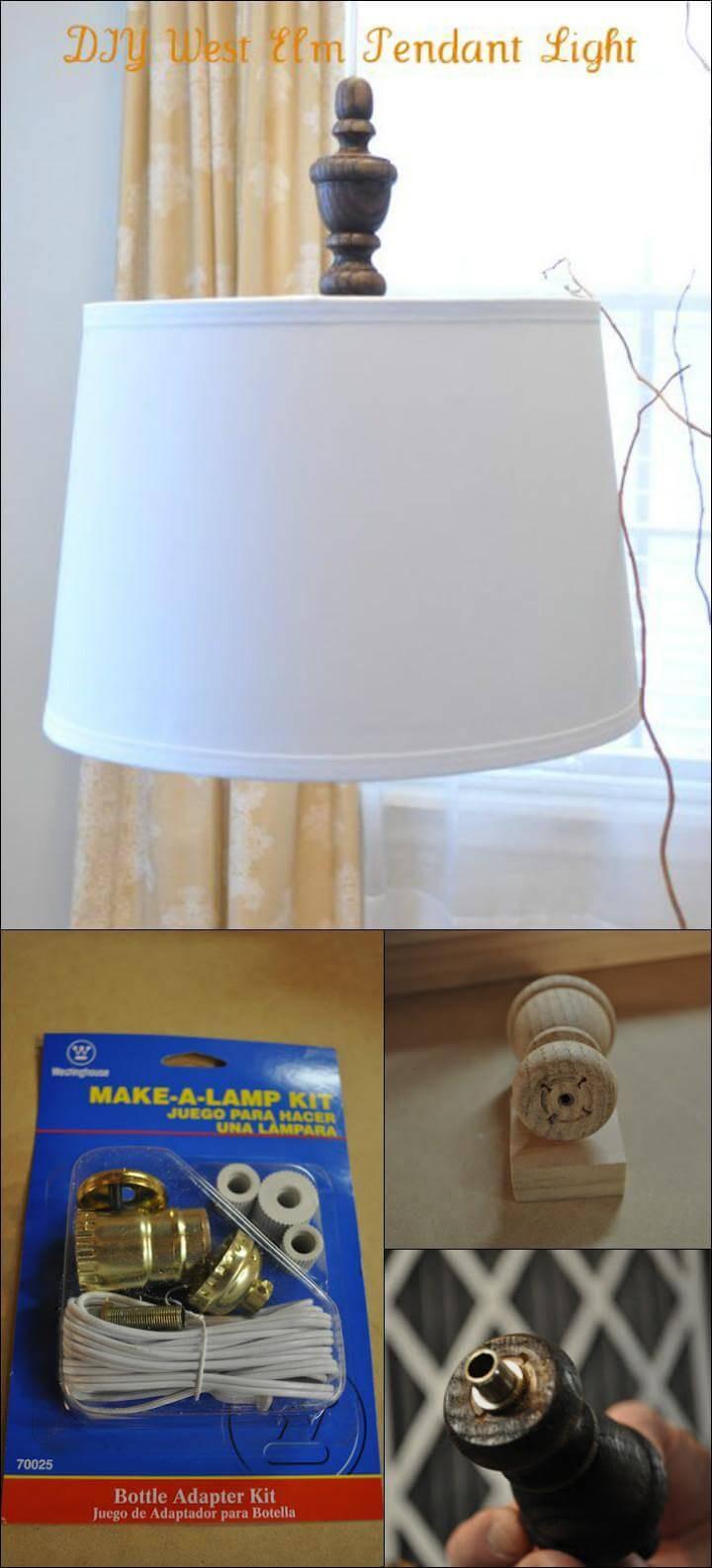 handmade modern pendant light