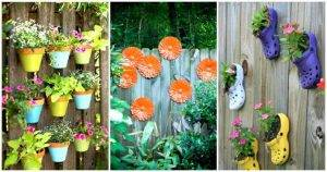 DIY Fence Decorating Ideas & Projects
