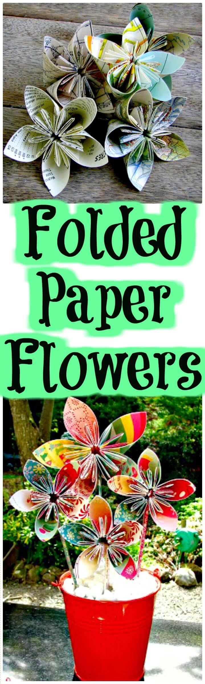 DIY easy handmade paper flowers