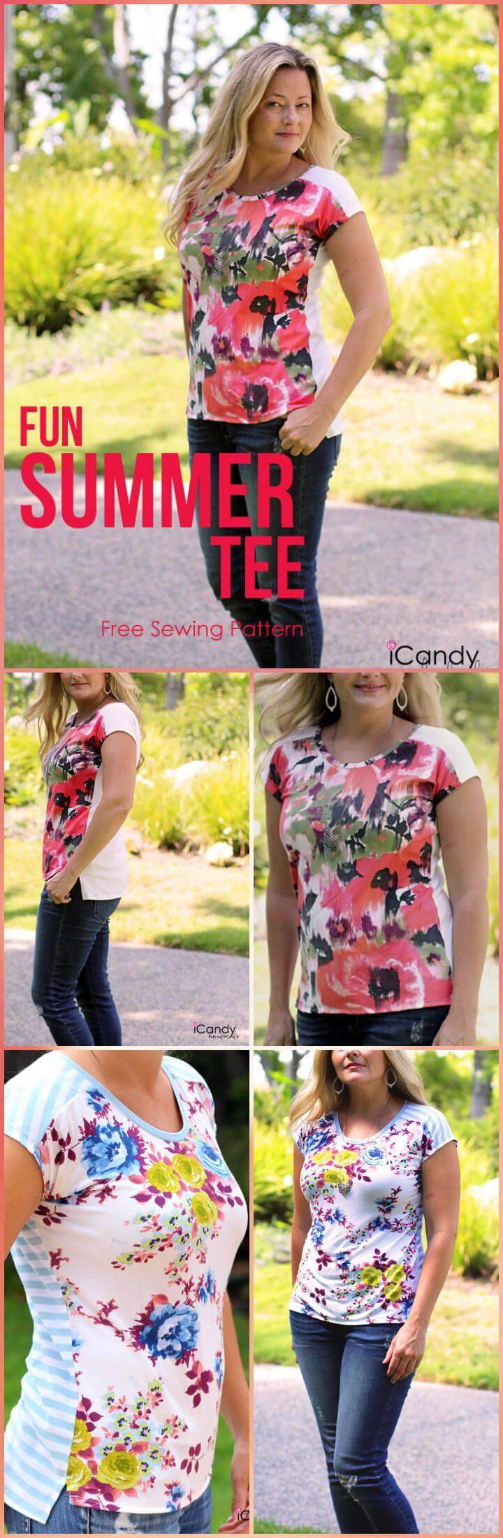 beautiful fun summer tee