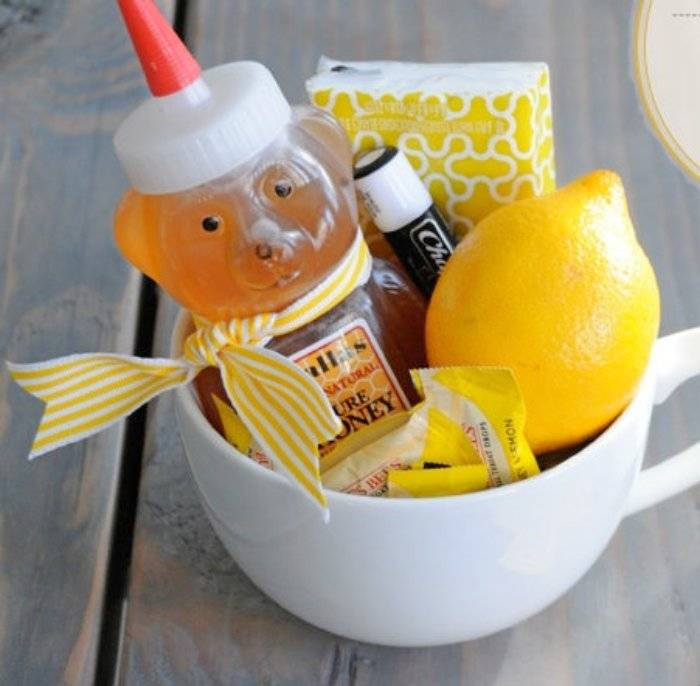 super easy get well soon gift basket
