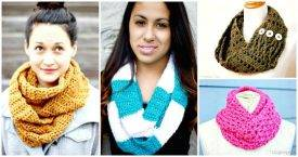 DIY Infinity Scarf Tutorials - DIY Fashion