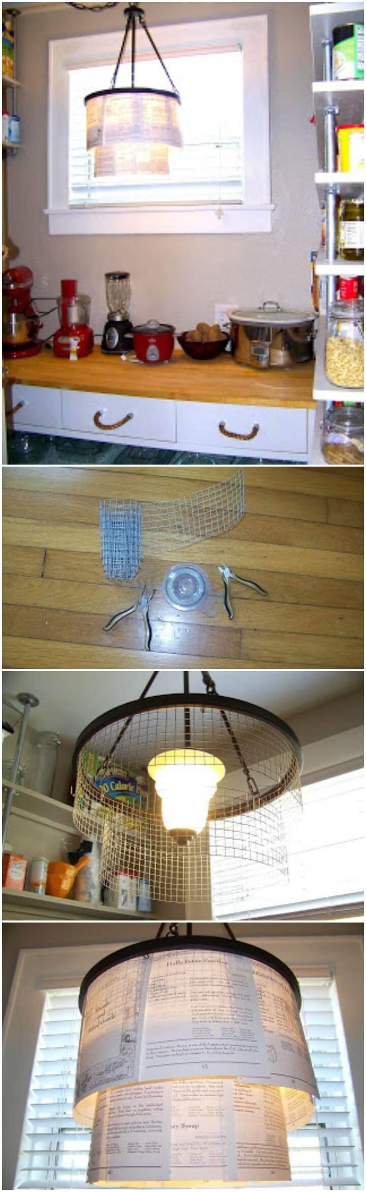 low-cost panty pendant light