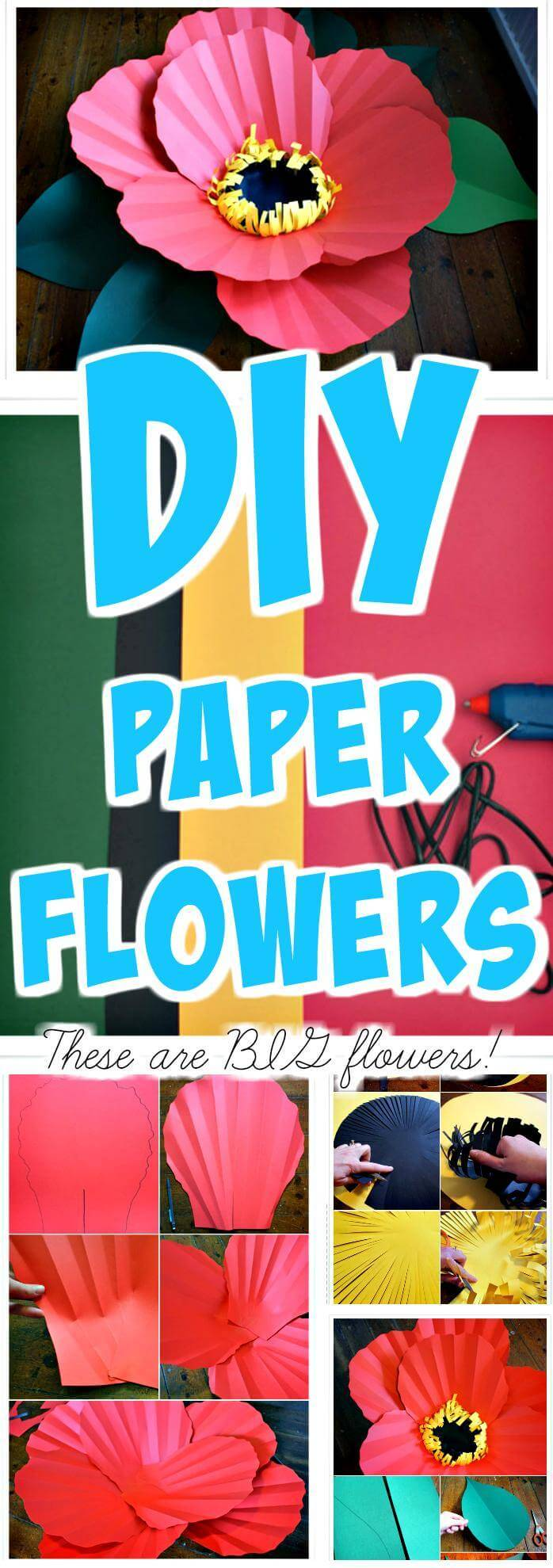 DIY super beautiful paper flowers