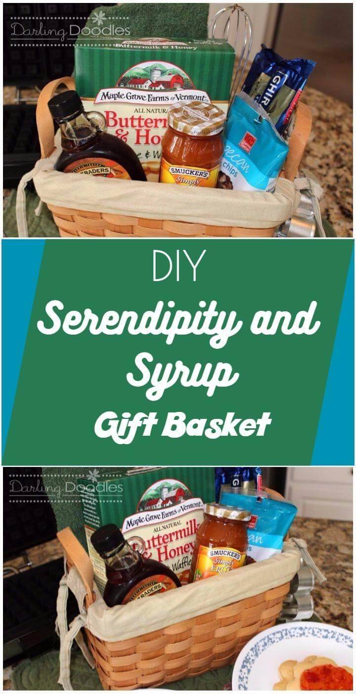timeless serendipity and syrup gift basket