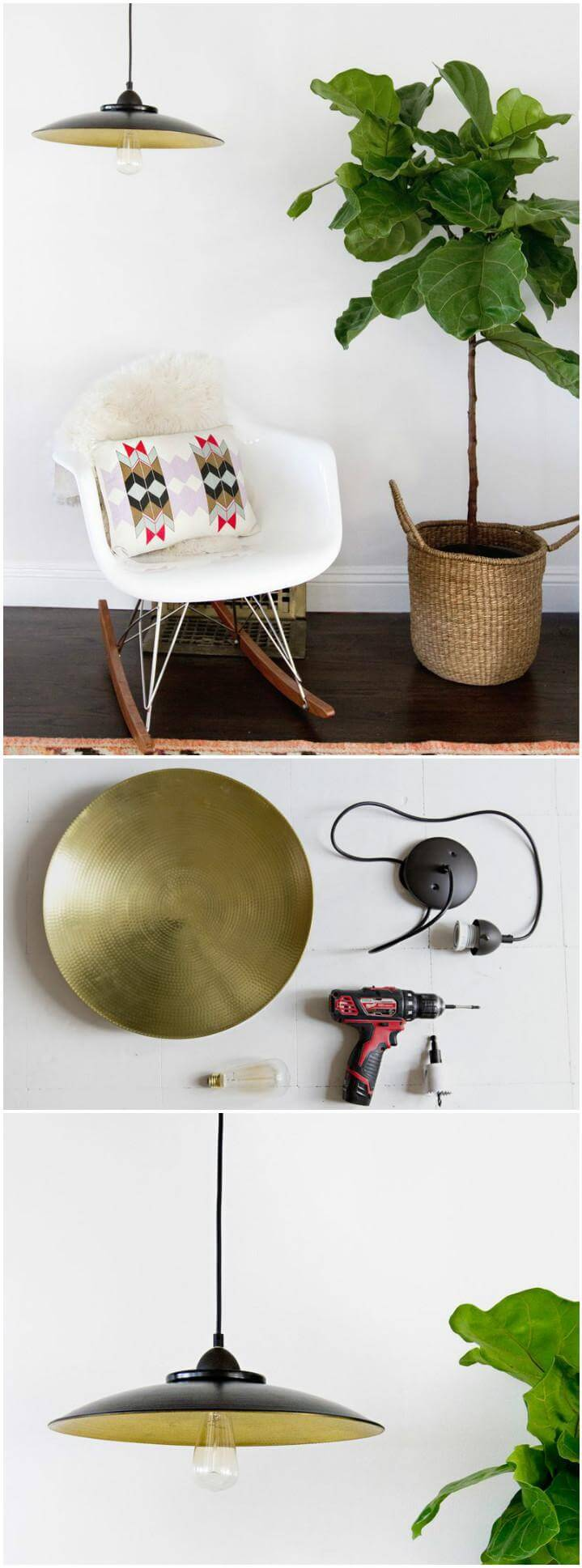 quick and creative pendant light lamp