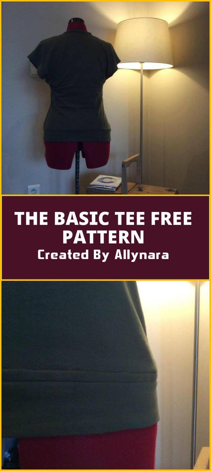 easy basic tee free pattern
