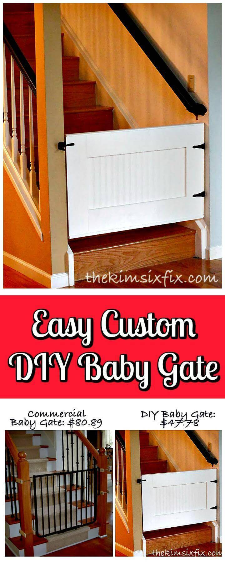 30 Best Diy Baby Gate Plans For Free Ultimate Guide