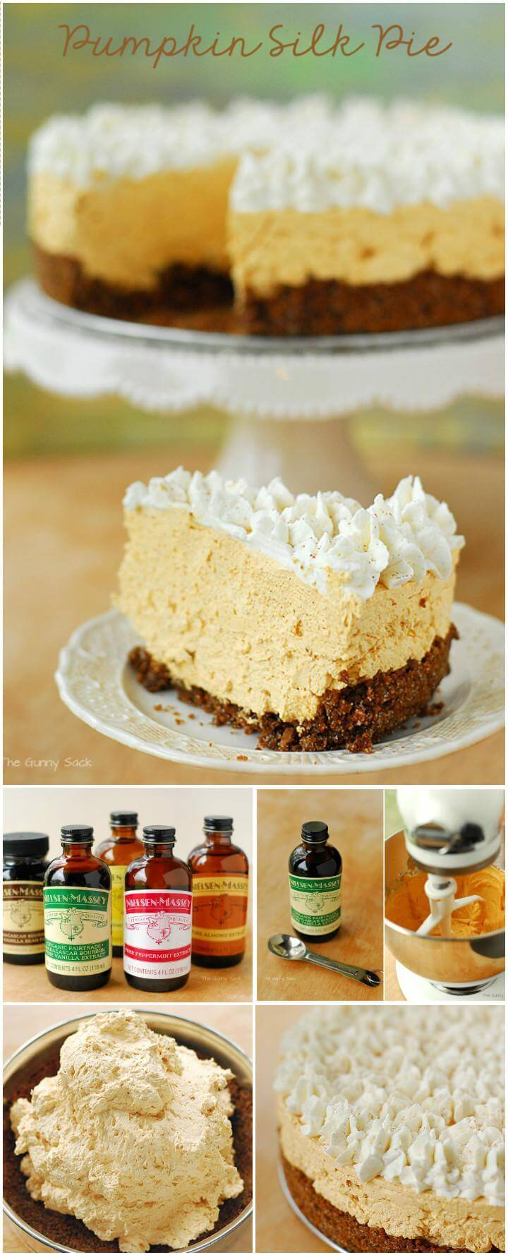 perfect pumpkin silk pie