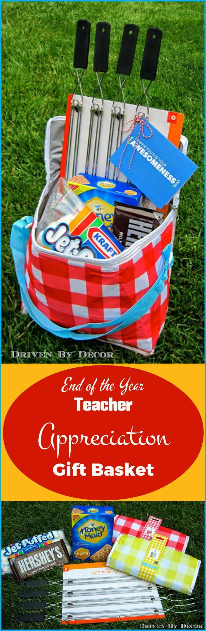 end of the year teacher appreciation gift basket