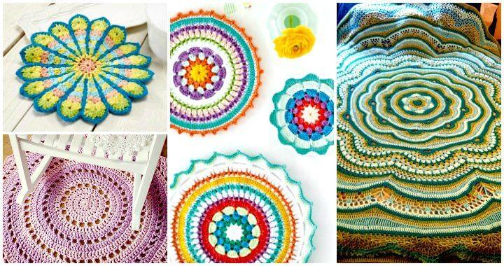 60 Free Crochet Mandala Patterns DIY Crafts Simple Free Crochet Mandala Pattern