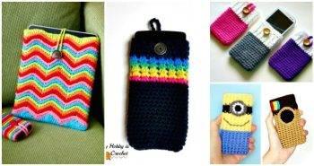 50 Free Crochet Phone Case Patterns